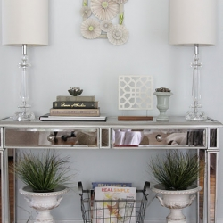 ... Mirrored Console Table