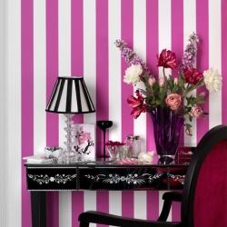 striped wallpaper decor - Wallpaper Decor