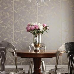 metallic wallpaper decor - Wallpaper Decor
