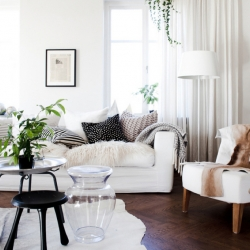 Decor Inspiration White Couch