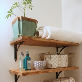 rustic shelves gallery dwellinggawker rh dwellinggawker com how to diy rustic shelves how to diy rustic shelves