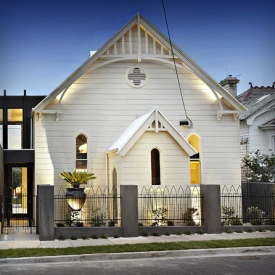 church turned into modern home