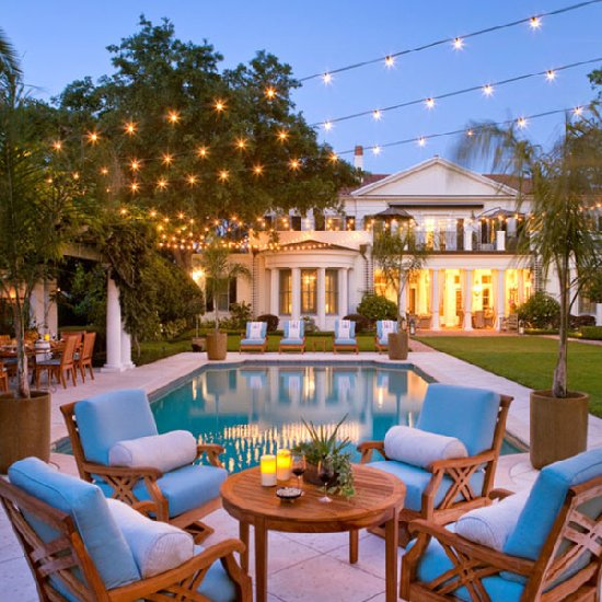 ... Outdoor Patio String Lights