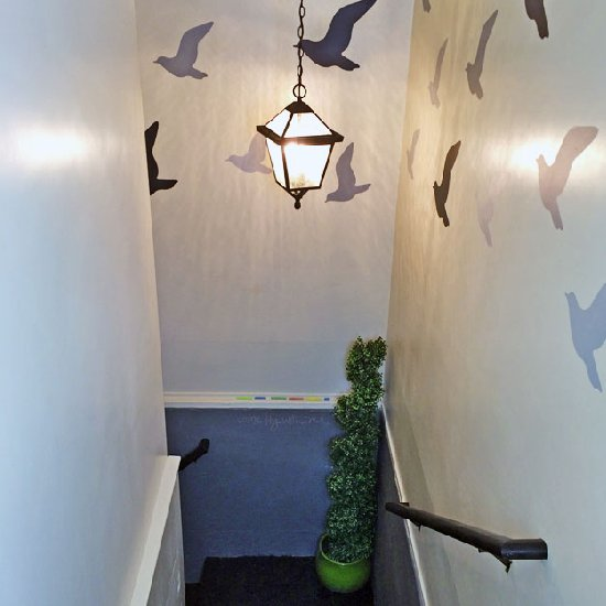 Stairwell Decorating Ideas Dwellinggawker
