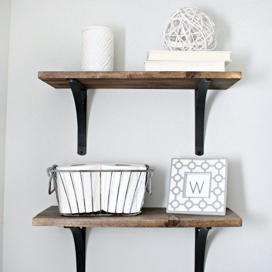 Rustic Shelves Gallery Dwellinggawker