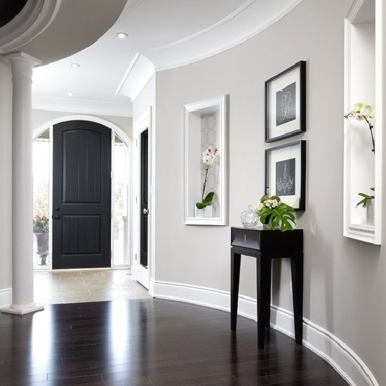 Foyer And Living Room Colors : Colors to paint a hallway home design