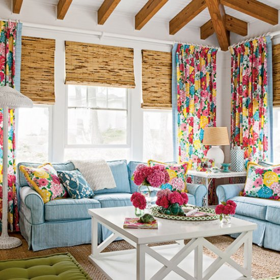 colorful living room ideas | dwellinggawker