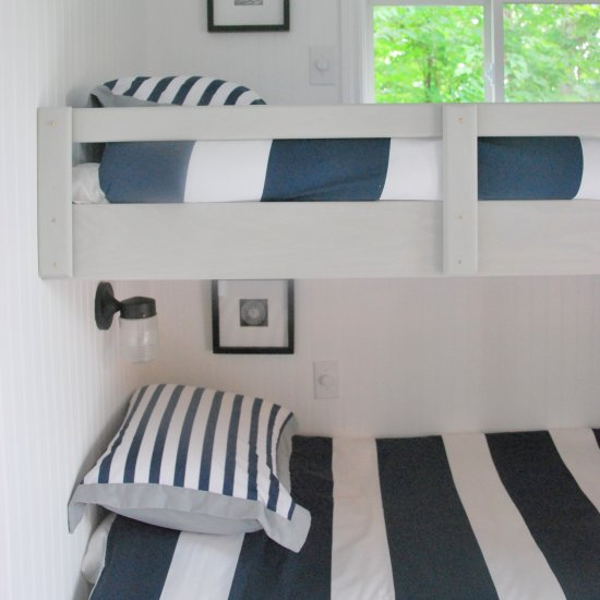 DIY floating bunk beds - Bunk Bed Gallery Dwellinggawker - Floating Bunk  Beds Show Home Design - Floating Loft Bed Show Home Design