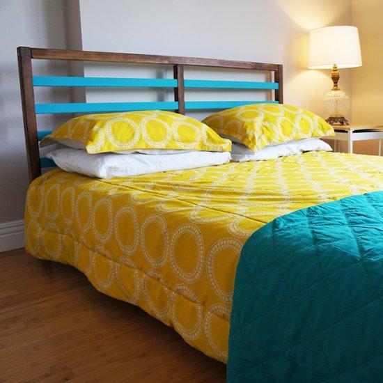 Ikea Tarva Bed Frame Painted ~ Ikea Tarva Bed Hack ikea tarva & nornas furniture hack dwellinggawker