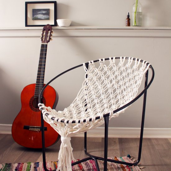 ... DIY Macrame Hammock Chair