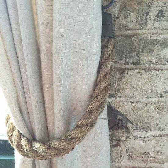 restoration hardware hack rope tie