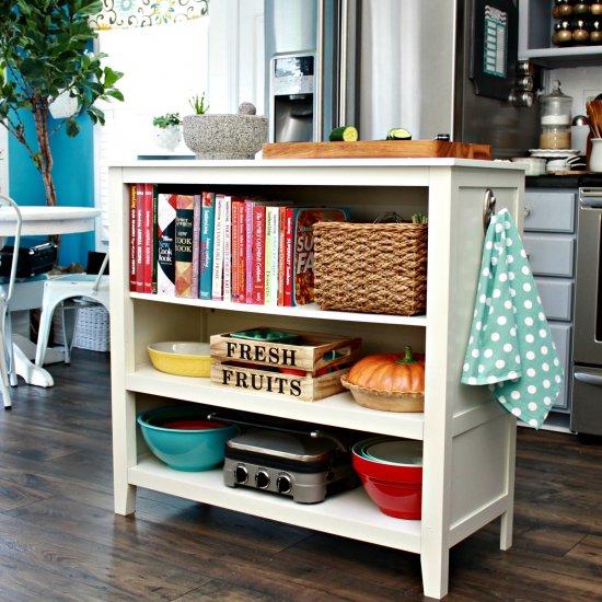 Billy Bookcase Kitchen Island Amazing Bookcases