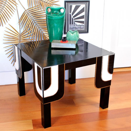 ... Art Deco Table Ikea Hack