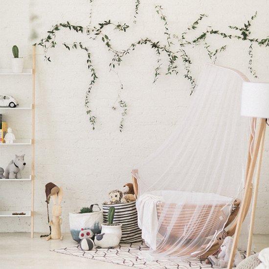 Simple Organic Nursery Decor