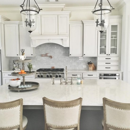 Our White French Country Kitchen