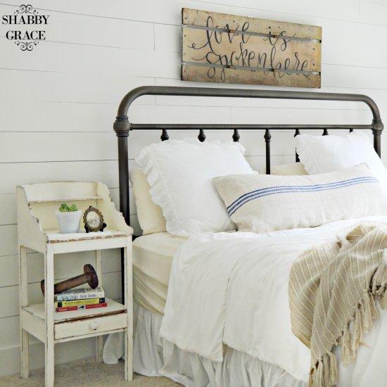 farmhouse master bedroom reveal | dwellinggawker
