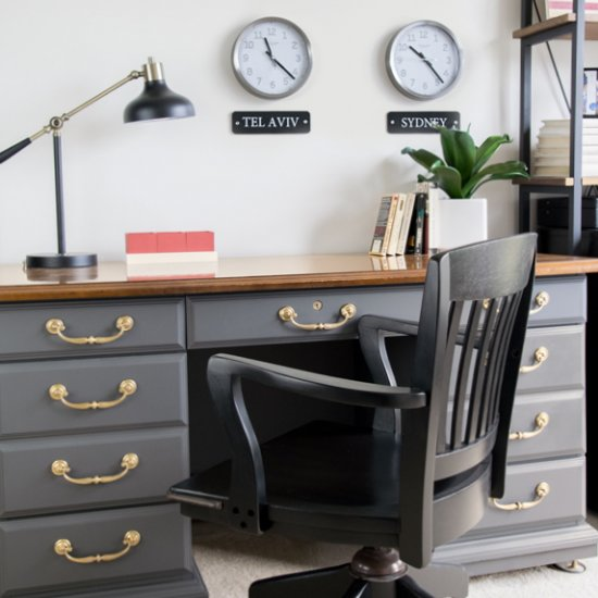 Male Office Decor Ideas from photo.dwellinggawker.com