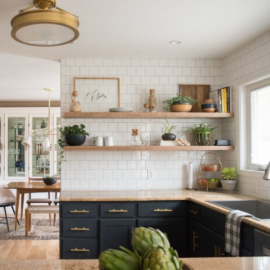 Diy Before After Kitchen Renovation Dwellinggawker