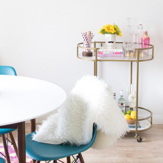 Bright Rented Dining Room