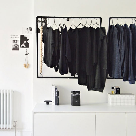 ... Make This DIY Open Closet