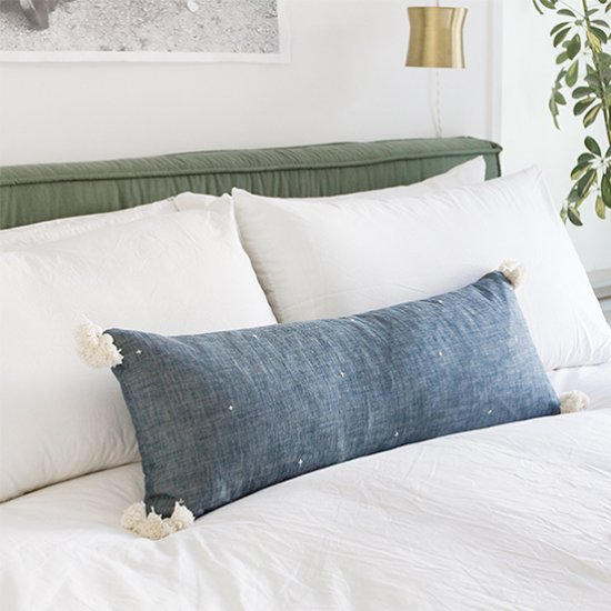 DIY Cotton Lumbar Pillow