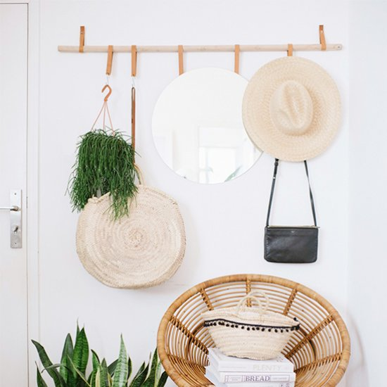 DIY Hanging Entryway Organizer