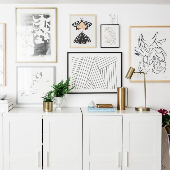 How to make a perfect gallery wall