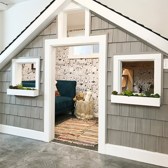The Sweetest Small Indoor Playhouse