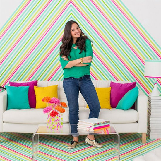 How to DIY Temporary Wallpaper