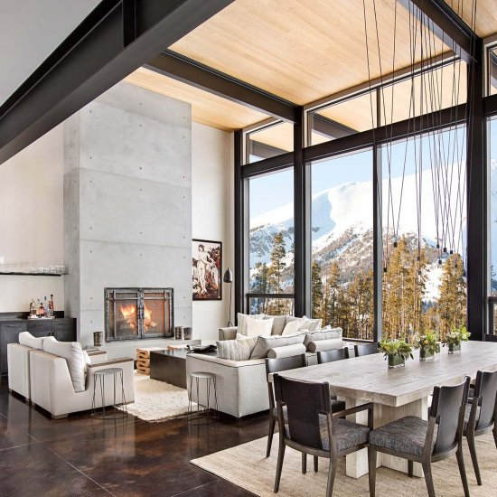 chic mountain retreat