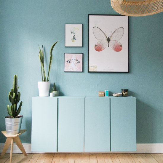 Paint Ivar Cabinets From