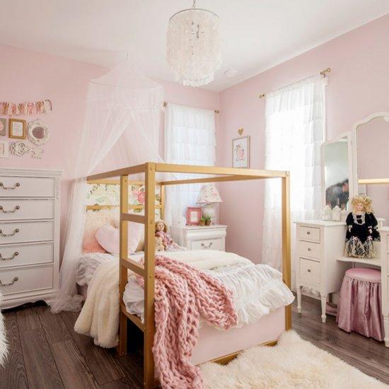 beautiful kids bedroom organization | dwellinggawker