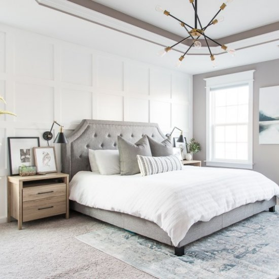 Merveilleux ... Modern Classic Master Bedroom
