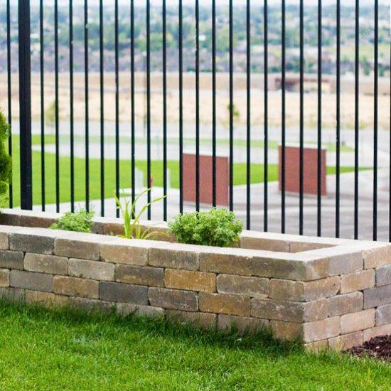 Diy Stone Planter Boxes Dwellinggawker