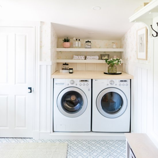 Client Reveal Whimsical Mudroom